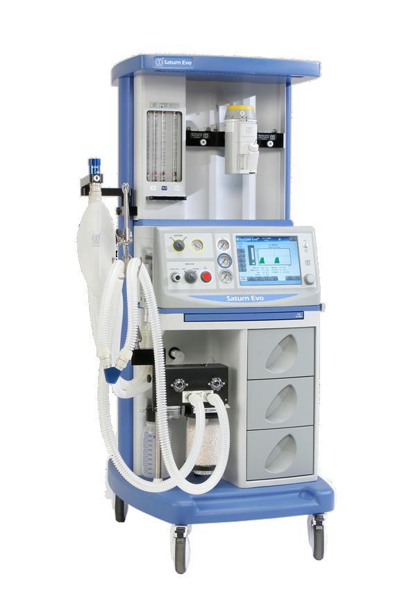 Medec benelux nv наркозный аппарат в 3-х газовой комплектации